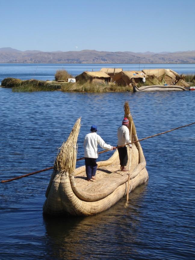Op het Titicacameer