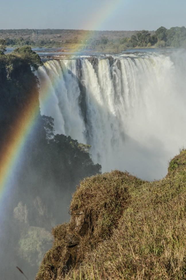 Wandeling langs de Victoria Watervallen