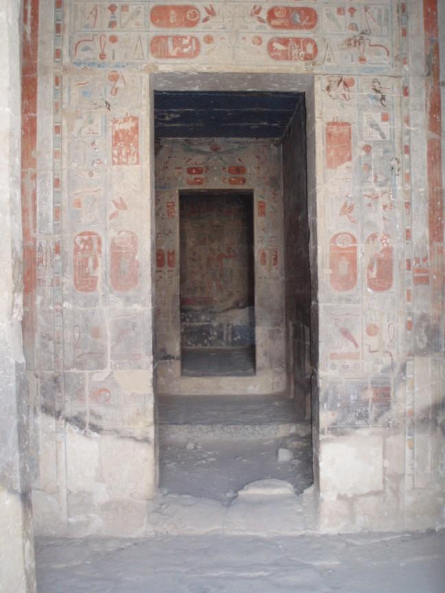 De deuren van Hatsjepsoet