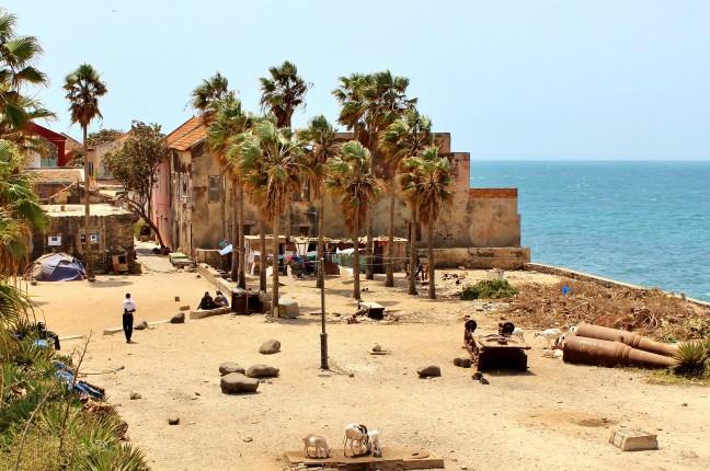 Straatbeeld Ile de Gorée