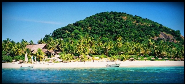 Matamanoa eiland