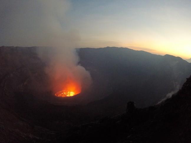 Deze vulkaan moet je niet missen als je in Congo bent!