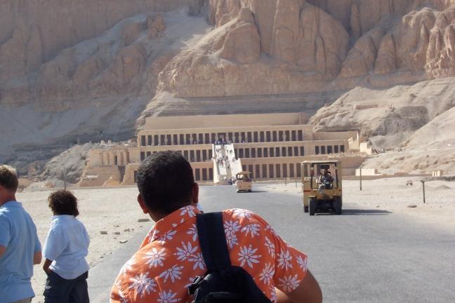 tempel van hatshepsut