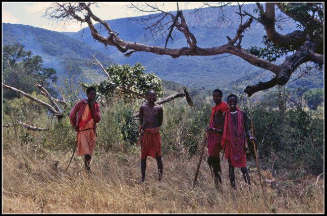 Masai mannen
