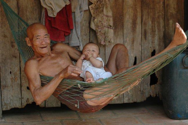 genieten van je kleinkind
