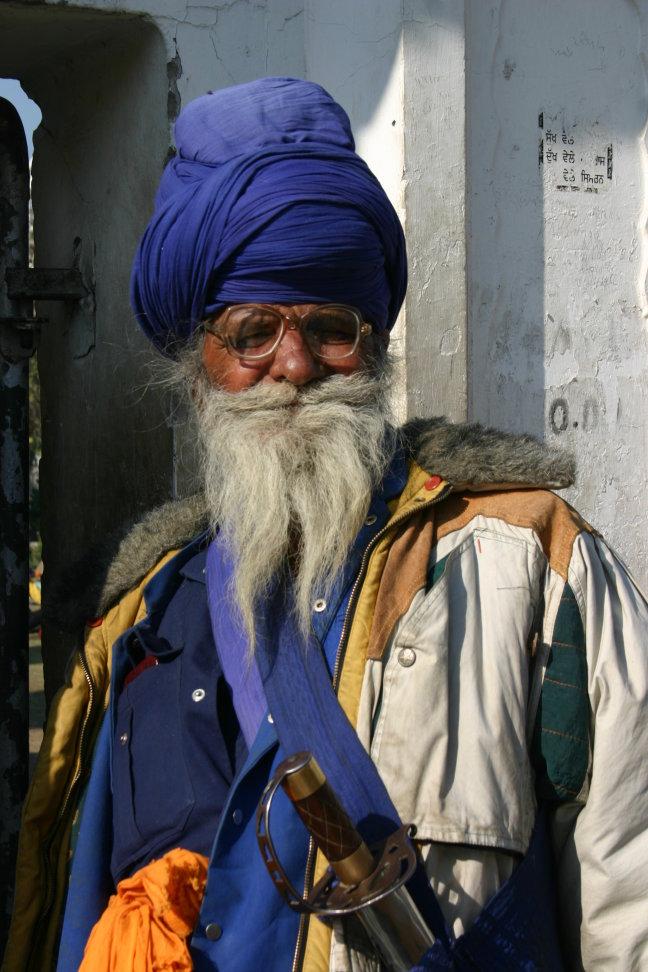 pelgrim in Amritsar