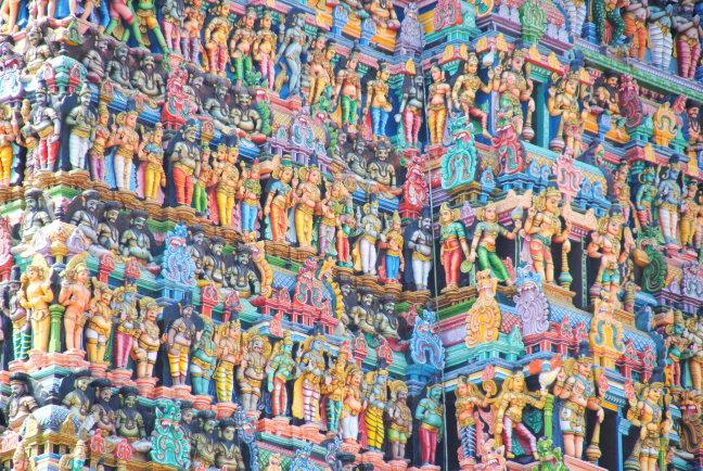 Meenakshi tempel.