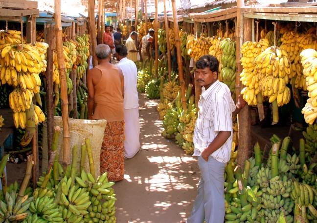 Bananenmarkt.