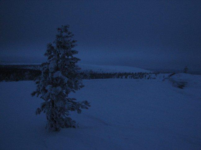 Brrr wat koud (Saariselka)
