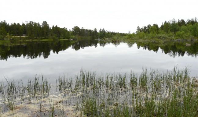 meren, heel veel meren in Finland