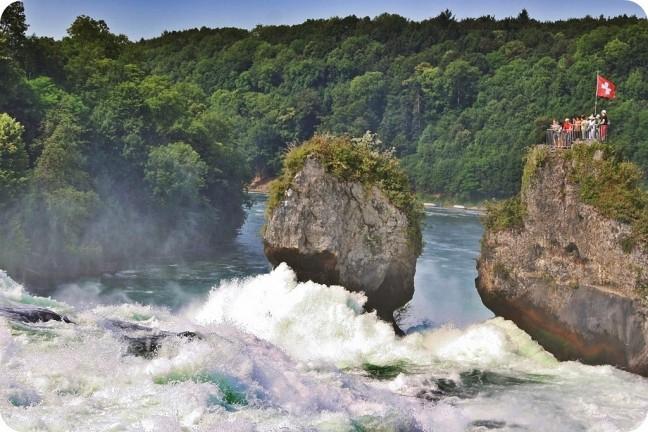 de rots in de Rijn