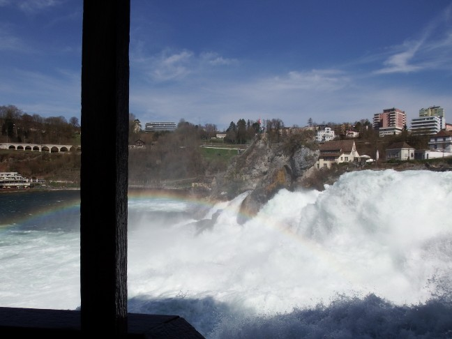 Rheinfall - Zwitserland - Europa's grootste