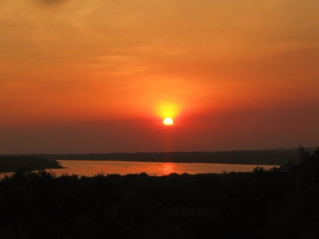 Sunset, Murchison Falls NP, Uganda
