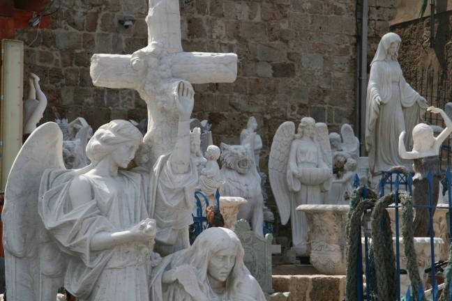 christelijke beeldenmaker te Akko