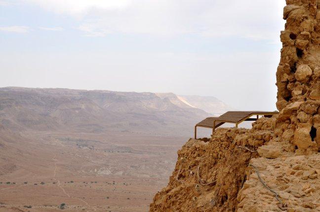 Uitzicht vanaf Massada