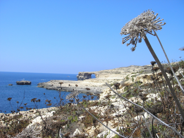 The Azure window, Gozo