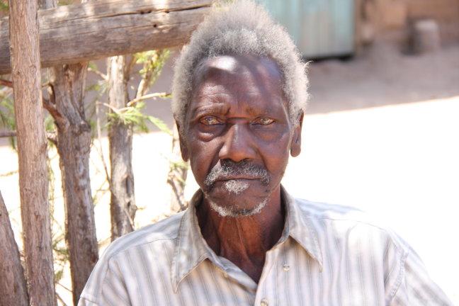 De 92 jarige man, het hoofd een familie