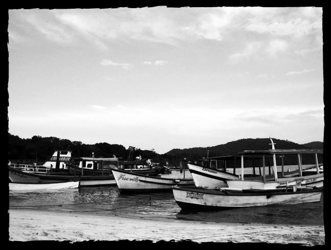 Vissersboten van Ilha do Mel