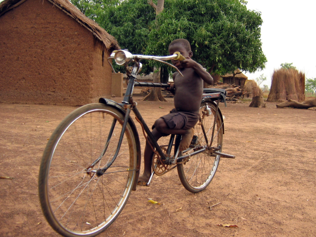 Bike w/Boy