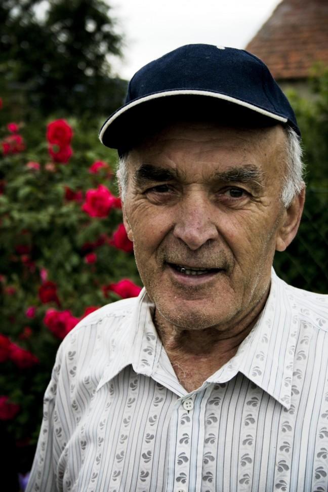 Oude man Uchiehuw-Polen