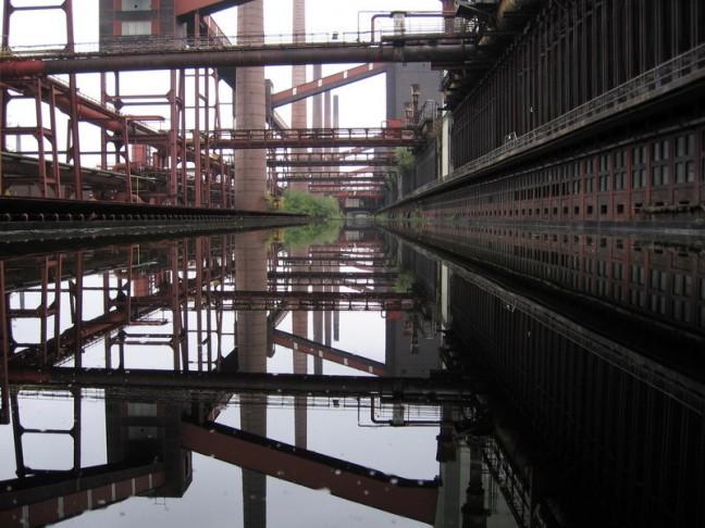 staal fabriek in Essen