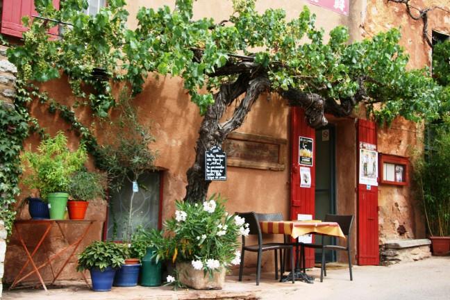 Roussillon, 'oker gekleurde dorp' in de Provence
