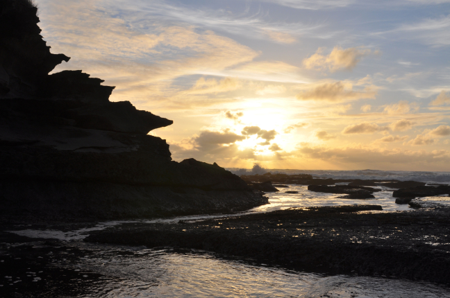 Sunset on Truman Beach
