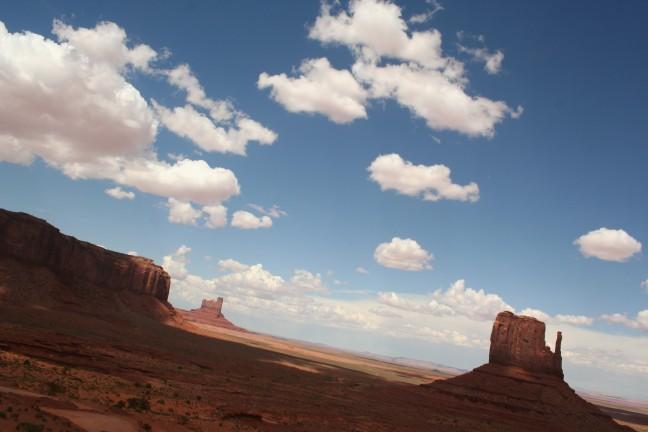 Fascinerende rotsformaties in Monument Valley