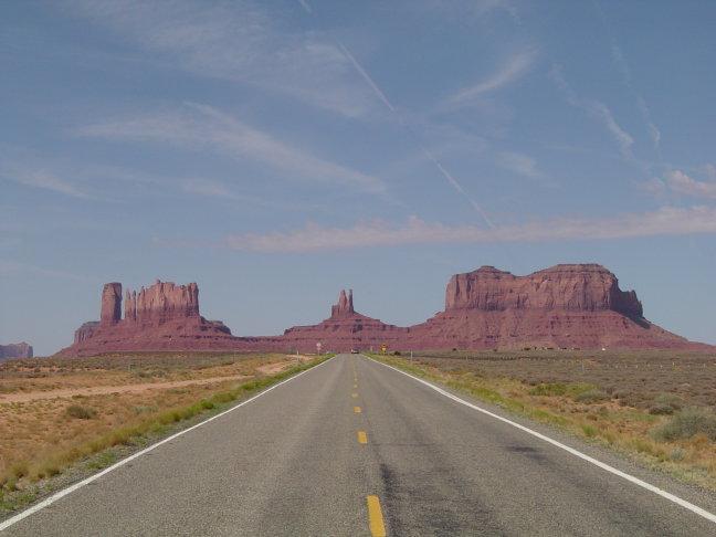 weg monument valley