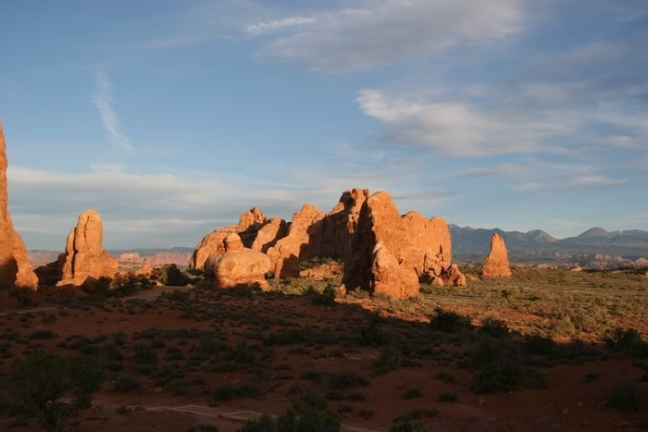 Sunset @ Arches NP