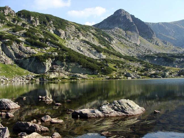 In het Rila gebergte, het '2e meer'