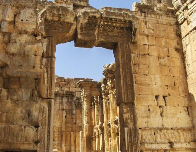 Tempel van Jupiter in Baalbek