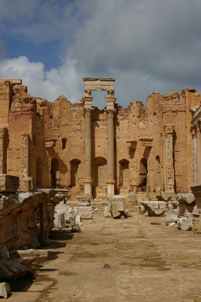 De absis van Severan Basiliek
