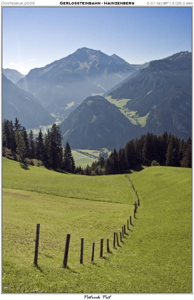 Zicht op Mayerhofen