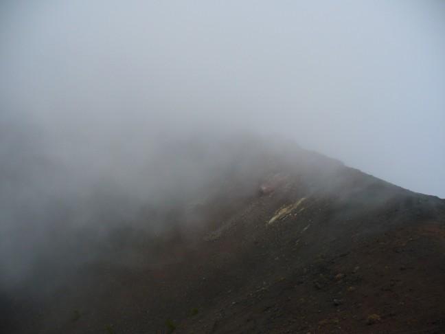 Verdwenen vulkaan