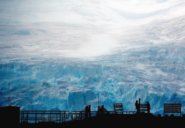 Werken op Antarctica
