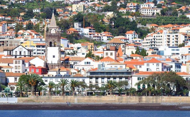 Funchal vanaf zee