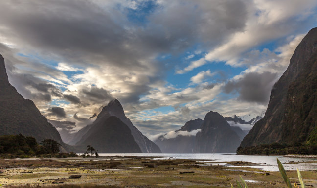 'Four Seasons In One Day' in Milford Sound