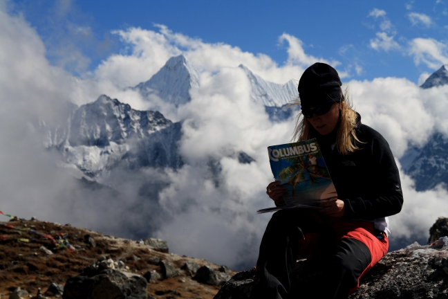 Columbus in de Himalayas
