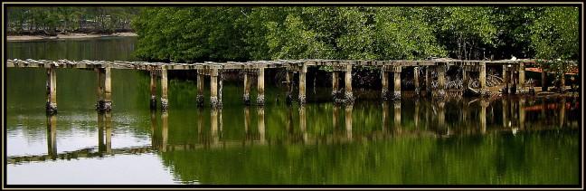 The Old Bridge in Koh Kood