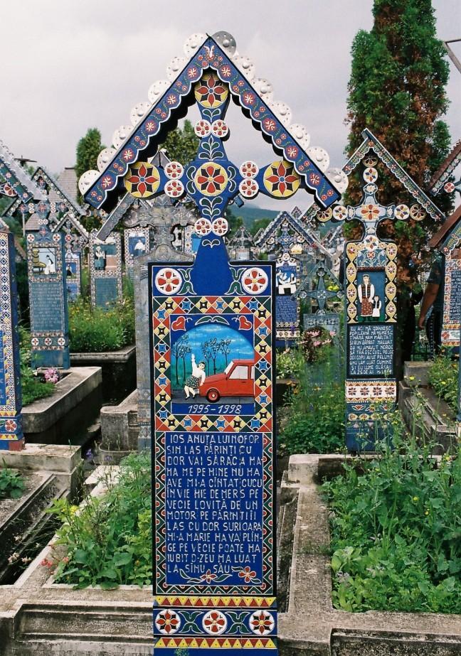 Vrolijk kerkhof