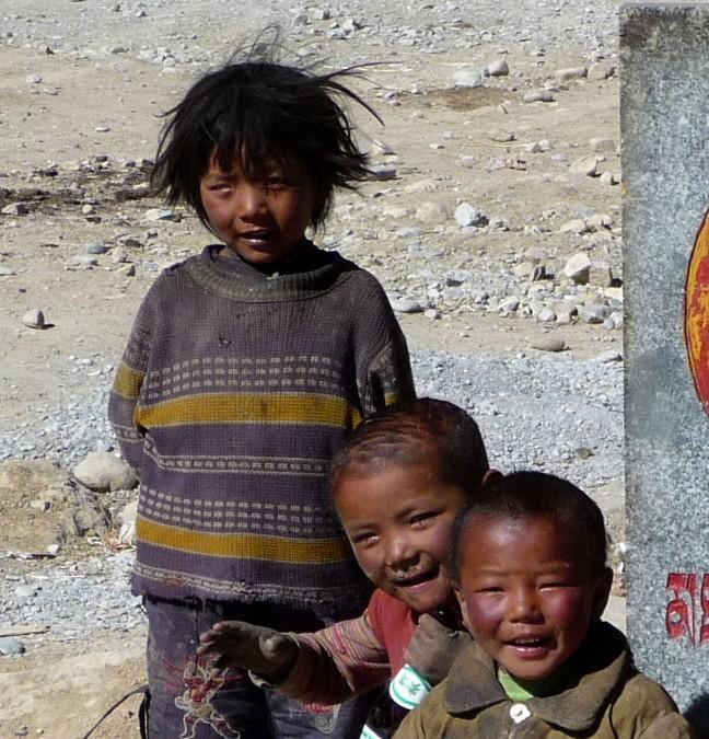 Tibetaanse kinderen