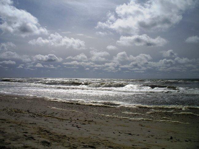 zon en wolken..