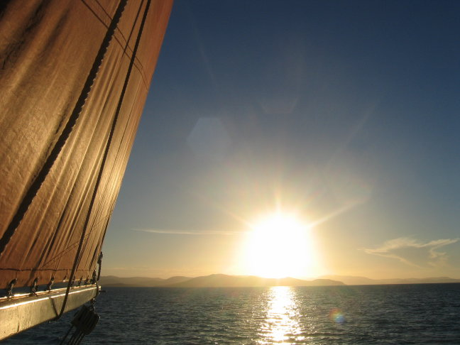 Whitsunday islands sailing