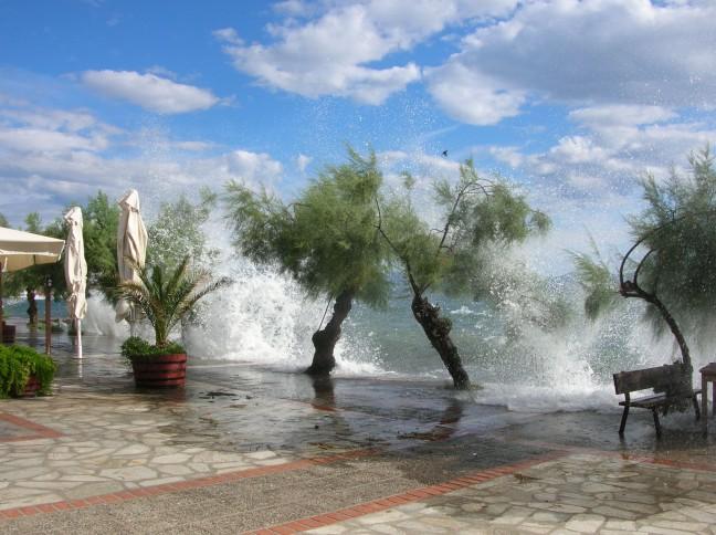 storm op Pelion