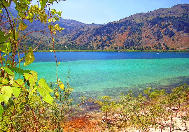 Het meer van Kournas