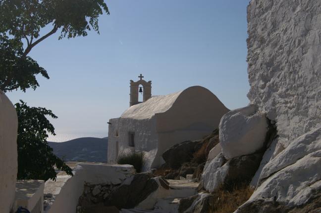 Kerkje op Naxos