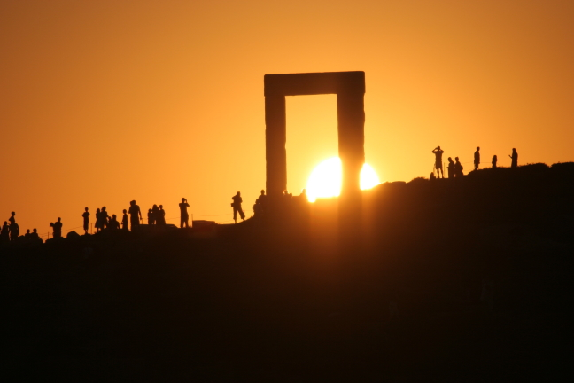 De Portara op Naxos