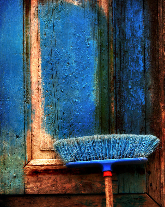 Blue Broom...