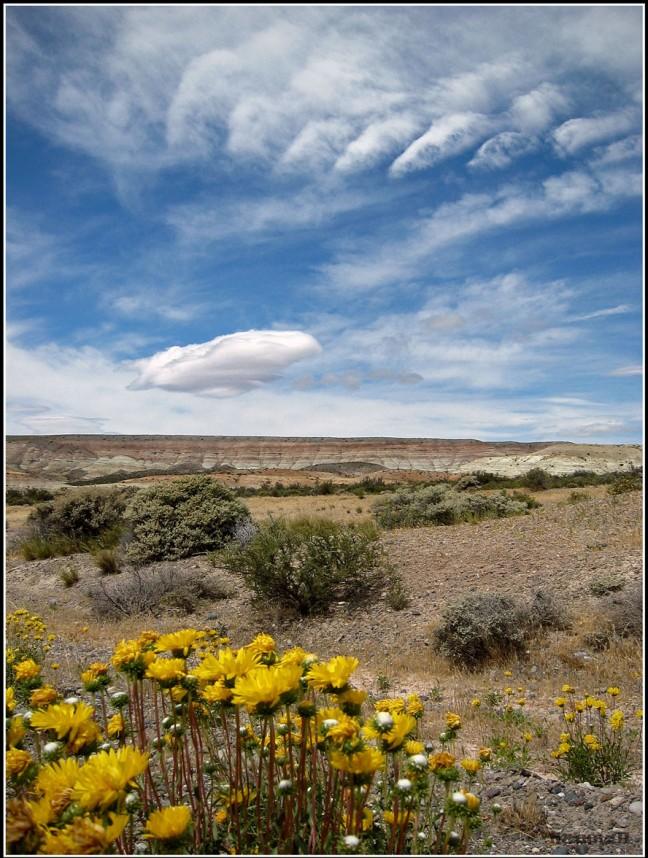 Patagonische wolkenlucht